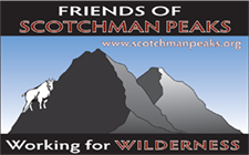 Friends of Scotchman Peaks Wilderness logo