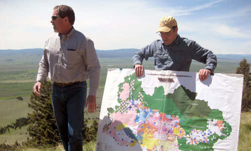 The Blackfoot Challenge helps to coordinate partnerships and resources that benefit the Blackfoot Watershed.